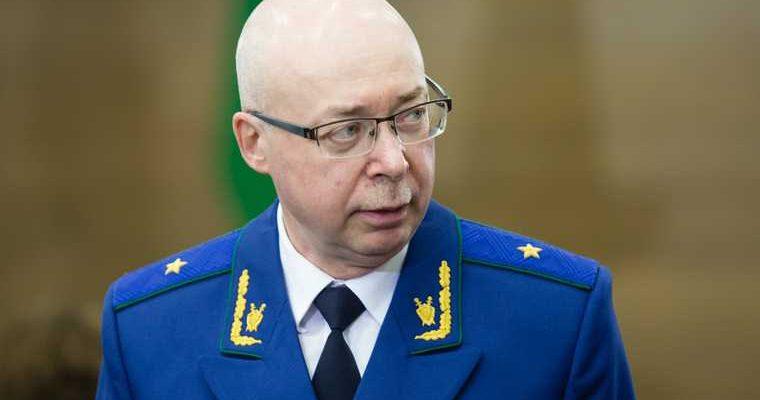Президент России прокурор ХМАО кадровые перестановки Ботвинкин переназначен