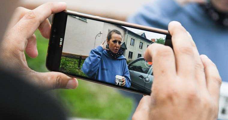 Собчак обратилась в СК после нападения в монастыре