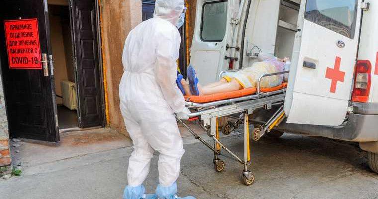В Екатеринбурге закончились места для больных коронавирусом