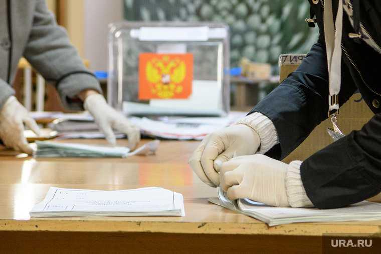 Подсчёт голосов на УИК 1386. Екатеринбург