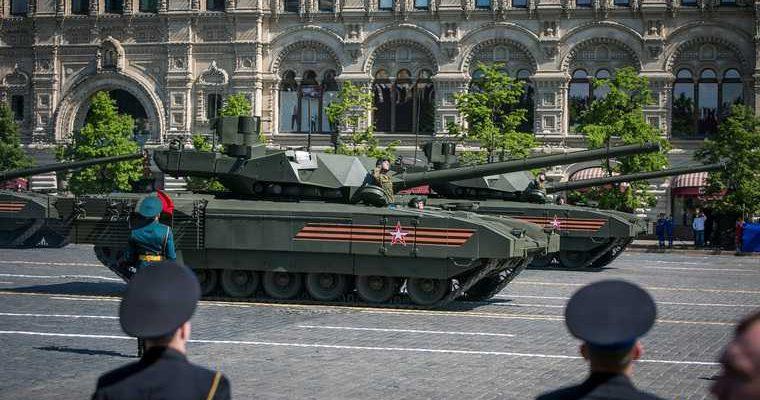 Танк «Армата» прошел испытания в беспилотном режиме