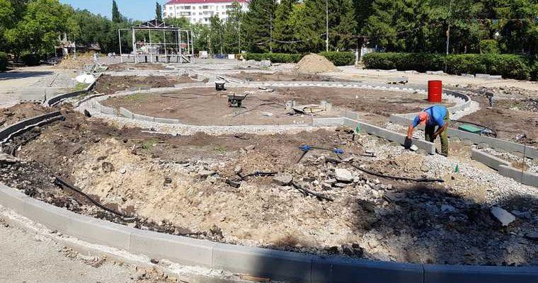 В главном парке Кургана после ремонта нашли дефекты. «Мешает прогулкам». ФОТО