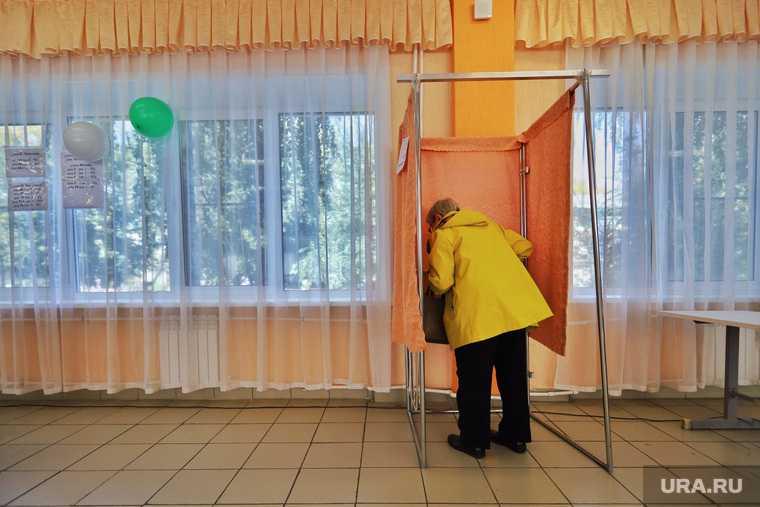 голосование в Курганской области