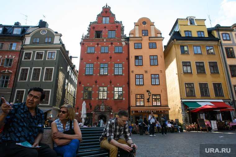Европа туристы