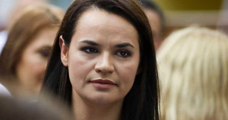 Тихановская призвала ввести санкции против властей Беларуси