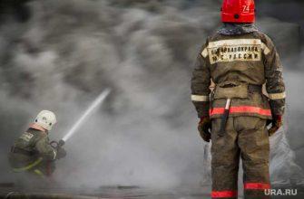 В Краснодаре горит многоэтажный дом