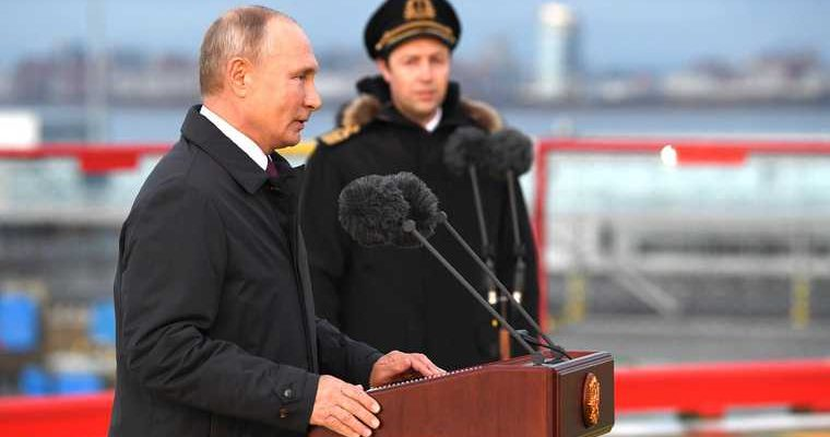 Путин вступил вборьбу заАрктику