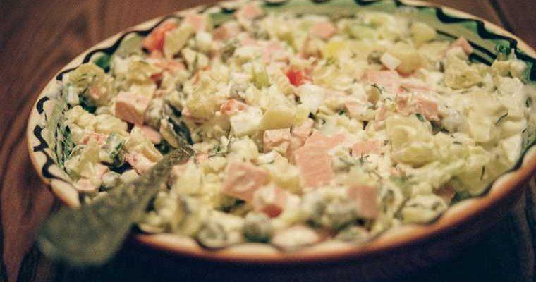 Росстат посчитал стоимость продуктов для новогодних салатов