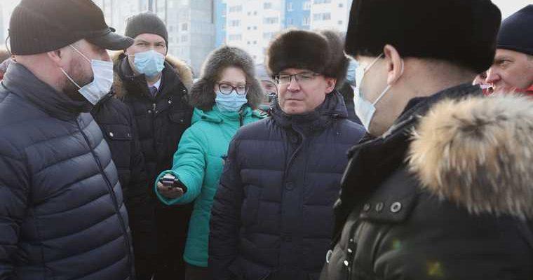 Полпреду Якушеву доложили, что будет с крупнейшим районом Кургана. Фото