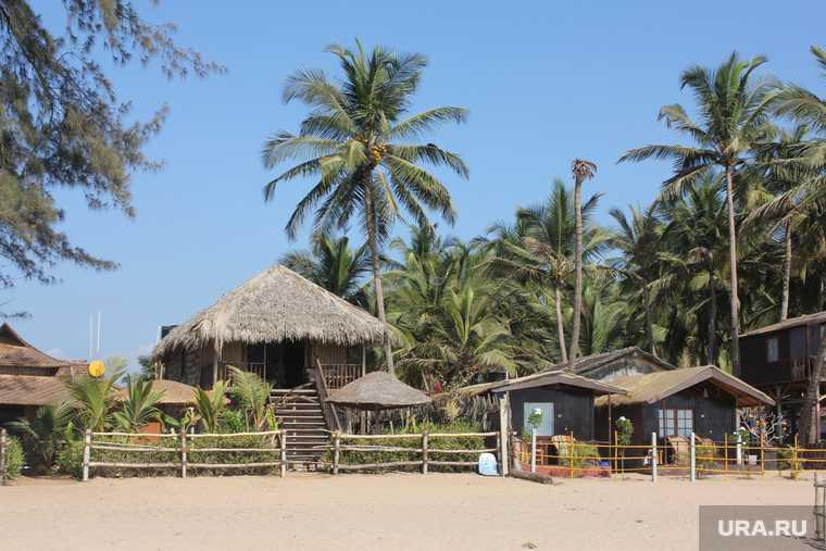 Индия Гоа отпуск туризм виза граница отдых