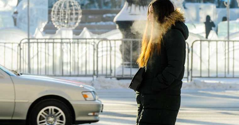 Сильные морозы и метели останутся в Челябинске