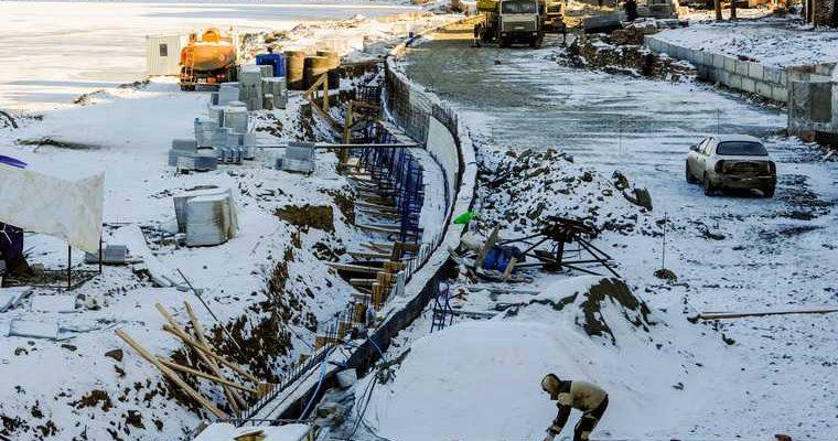 Челябинск реконструкция набережная Котова Текслер аукцион подрядчик срыв сроков