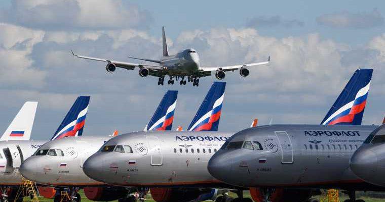 Россия продлила остановку авиасообщения с Великобританией