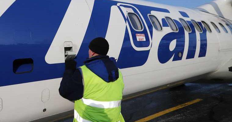Самолет Utair сломался по пути из Тюмени в Ханты-Мансийск