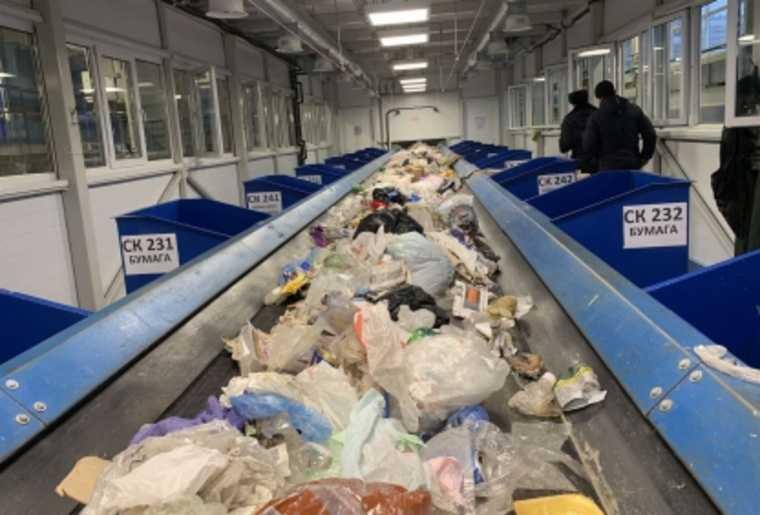 В тобольске на ленте мусорного завода нашли тело младенца
